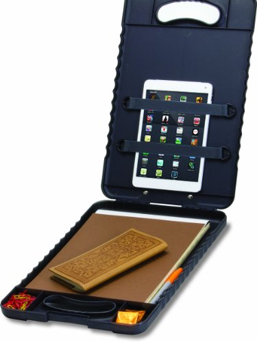 Officemate OIC Letter/A4 Size Tablet Clipboard Case, Charcoal (83314) Photo #3