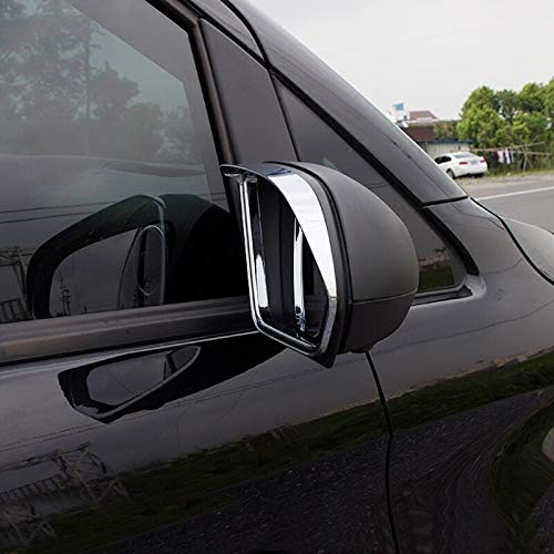 Car Accessories Outer Side Door Mirror Sun Rain Guard Cover Trim ABS Chrome For Mercedes-Benz Vito 2014-2018 (Not for V-class)