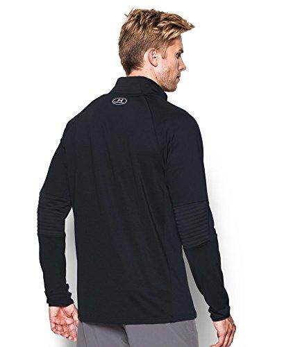 Under Armour Men's No Breaks ColdGear Infrared Run Jacket, Black/Black, Large Photo #2