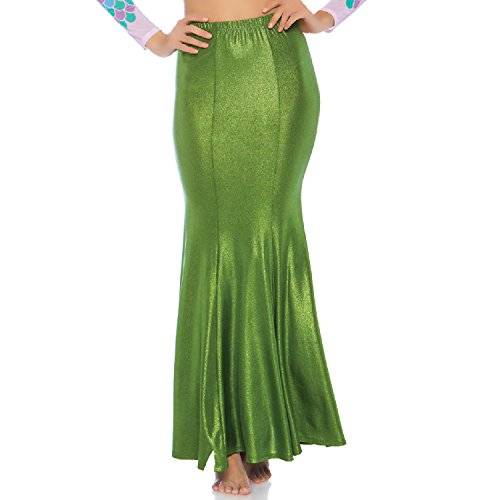 Leg Avenue Women's Plus Size Shimmer Mermaid Tail