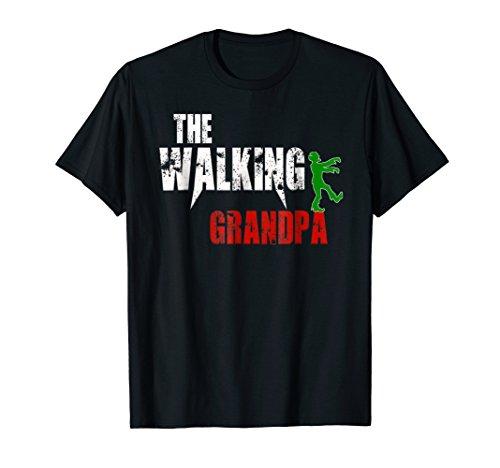Grandpa gift t-shirt, Scary Walking Zombie -