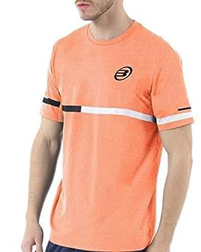 Bull padel Camiseta BULLPADEL INTRIA Naranja FLÚOR: Amazon ...