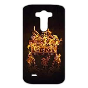 Unique Design FC Real Madrid FC Team Logo Phone Case Cover For LG G3 3D Plastic Phone Case