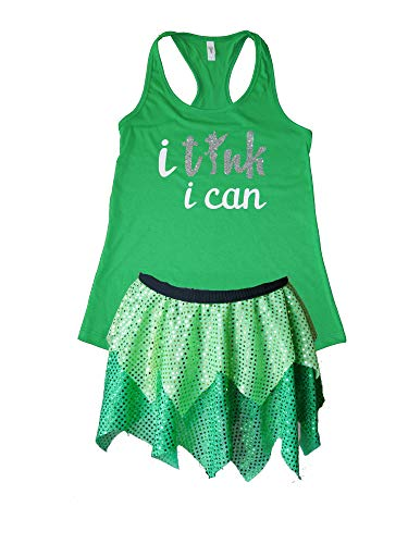 Tinkerbell Tink I Can Running Costume ()