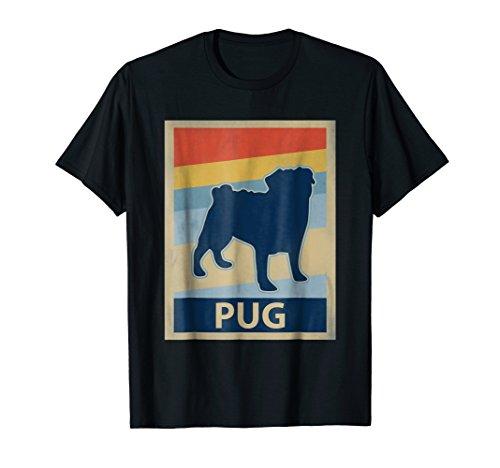 Vintage Pug T-Shirt, Cute Pug Dog Lover T Shirt for $<!--$19.99-->