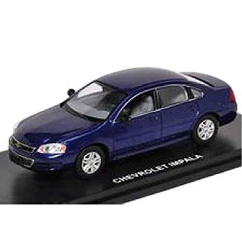 First Response 1/43 Chevy Impala 2011 Imperial Blue [AHM43-603] Japan used very good (Diplomat Dodge Police Car)