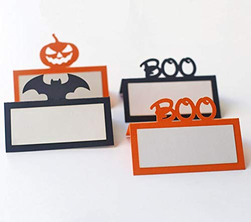 Wall of Dragon Halloween Place Cards,Halloween Tent Tags,Halloween Escort Cards,Halloween Food Tags,Fall or Autumn Decor -