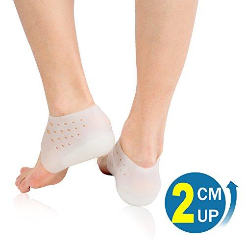 fly feet 시크릿 인 솔 비밀에서 신장2.0~2.3CM업 발뒤꿈치 보호 서포터 에어 인 솔 heel《아푸》 미각(아름다운 다리) 충격 흡수 안에 까는 물건 중깔개 발뒤꿈치 케어 남녀 겸용 한걸음분