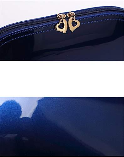 Portés Main Le Sac Sacs Verni Cuir en Banquet Main Lady A JIUSHIGUANG Sac Décontracté Féminin PU À Tenant Couleur Main Sac rouge Rose Mini Bonbon wF50xvqfnv