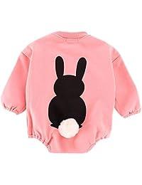 81313ed04a07e Jshuang❤ (6M~18M) Newborn Baby Boys Girl Outfits Sets Rabbit Bodysuit