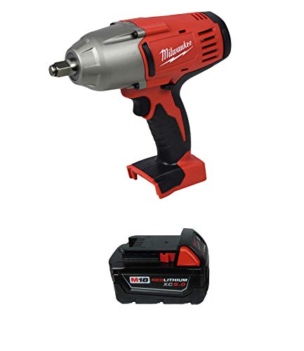 Milwaukee 2663-20 1/2″ High Torque Impact Wrench w/ 48-11-1850 5.0Ah Battery