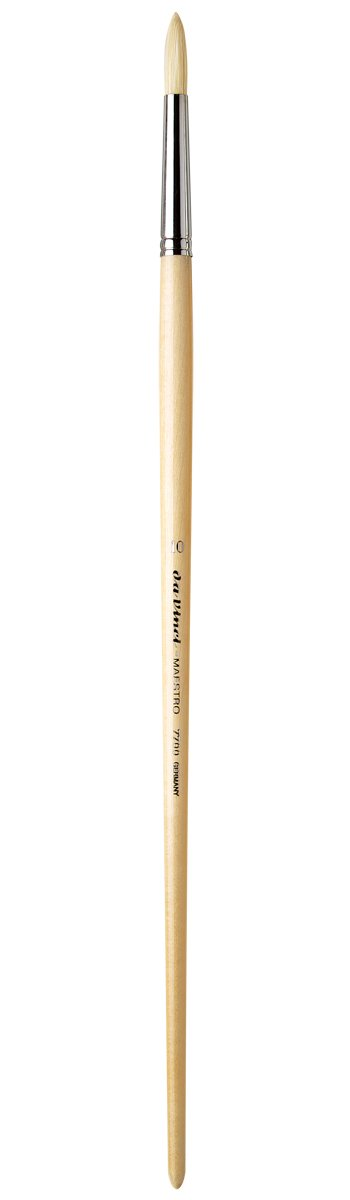 da Vinci Hog Bristle Series 7000 Maestro Artist Paint Brush Flat Long-Length ...