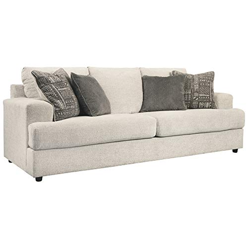 Signature Design by Ashley - Soletren Modern Queen Sofa Sleeper, Stone