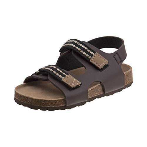Rugged Bear Boys Cork Sandals (Toddler) (6 M US Toddler, Brown)'