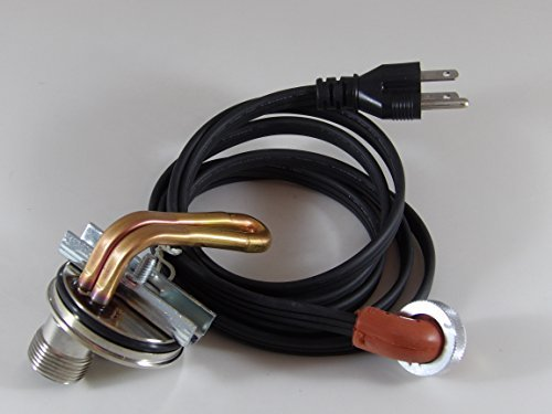 (Engine heater Kit compatible with AMERICAN GRAPE HARVESTER Harvesters Quantum w/Cummins 6B5.9 Eng.)