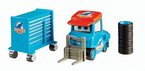 Cars Pixar Disney Pit - Disney/Pixar Cars Luke Pettlework with Tires & Tool Cart Diecast Vehicle