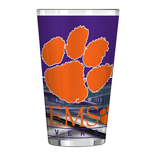 NCAA Clemson Tigers Field Pint, 16-ounce -