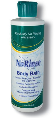 SPECIAL PACK OF 3-No Rinse Body Bath 8 oz. by Marble Medical