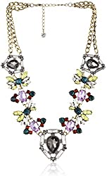 """Purple by M. Haskell Mixed-Bead Statement Necklace, 20"""" + 3"""" Extender"""