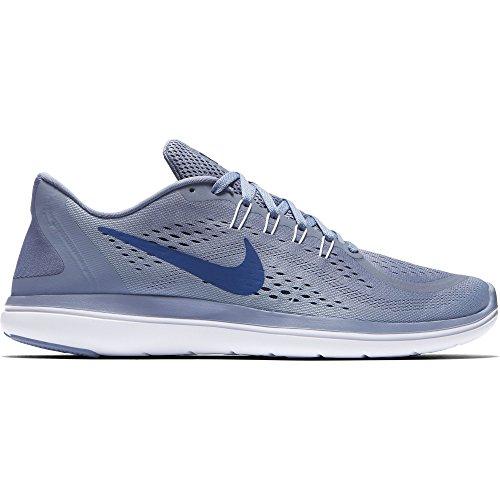e4b24483ff885 Galleon - Nike Men s Flex RN 2017 Running Shoe Dark Sky Blue Gym Blue Glacier  Grey Size 7.5 M US