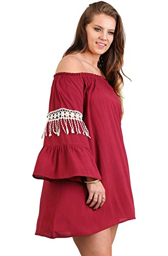 Umgee Womens Sleeve Tunic Dress product image