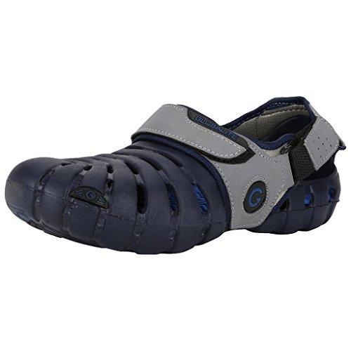 Globalite Men's Sandals Parko IV Grey Navy GEC0204N