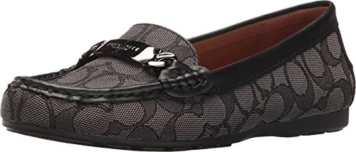 Coach Womens Olive Black Smoke Black Shoe