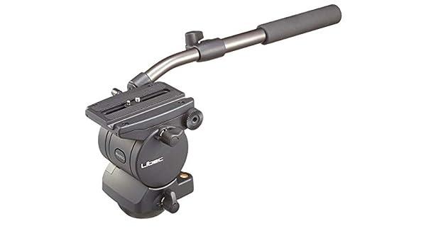 Libec RH25D Dual-Base Pan Tilt Fluid Head Extendable Pan Handle