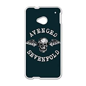 DAZHAHUI Avenged Sevenfold Fashion Comstom Plastic case cover For HTC One M7