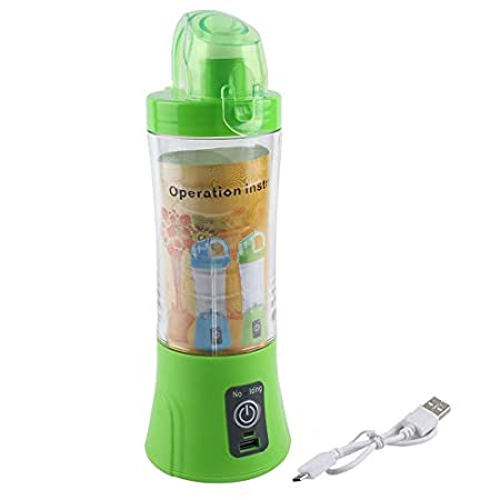 JICHUI Tamaño Compacto USB Botella Recargable Exprimidor de ...