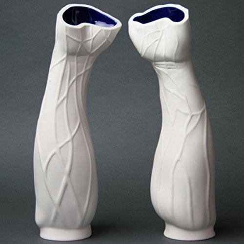 セーブル(Sevres) 花瓶 ベース オブジェ アンソロポモロフ(一対) 飾り壺 ハンドメイド 飾り物 B01D5WL3UK