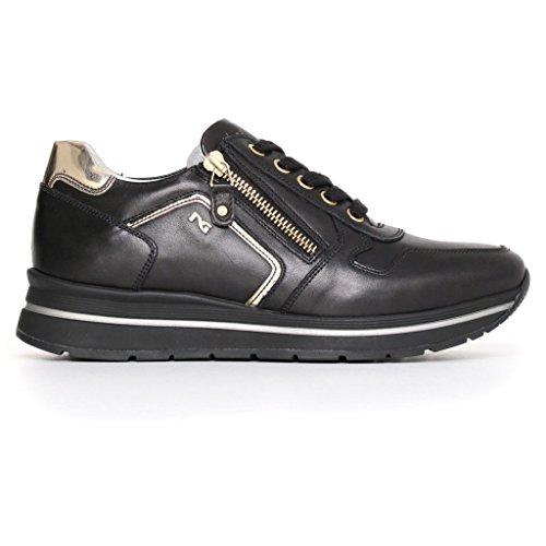 Noir Giardini Sneakers basses femme Nero wIqUOw
