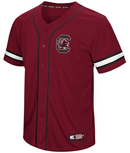 South Carolina Gamecocks NCAA 'Play Ball' Men's Button Up Baseball Jersey