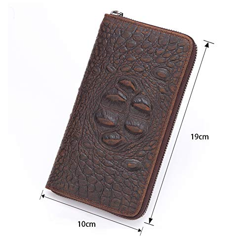 1 Monete card Zyg Sezione gg Capacità Portafoglio Cerniera Alta Lunga Posizione Attività Documento Commerciale 2 Bill Porta Folder Portafoglio Uomini Frizione Multi 11vZr