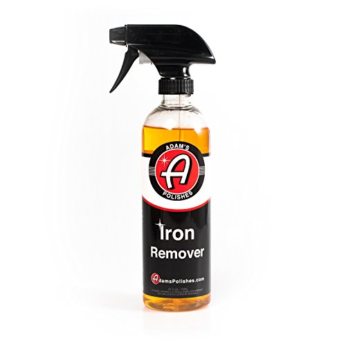 Adam's Iron Remover - Dissolves Iron Particles Embedded into Paint Surfaces - Changes Color to Purple as it Works (16 oz)