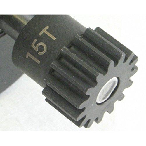Hot Racing NSG3215 15t Steel 32p Pinion Gear 5mm Bore (15t Gear)