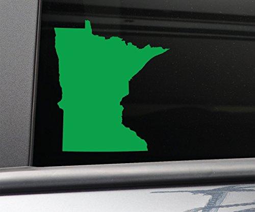 Minnesota Vinyl Decal Laptop Car Truck Bumper Window Sticker, 5.5