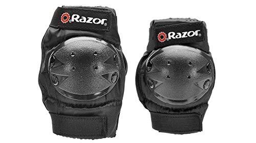 Razor Youth Multi-Sport (2) Elbow & (2) Knee Pad Safety Set - Black   96771 (6 Pack) by Razor (Image #5)