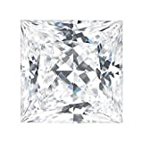 Charles & Colvard Forever Classic 6.5mm Square Princess Cut Moissanite Gemstone (J-K color) by Charles & Colvard