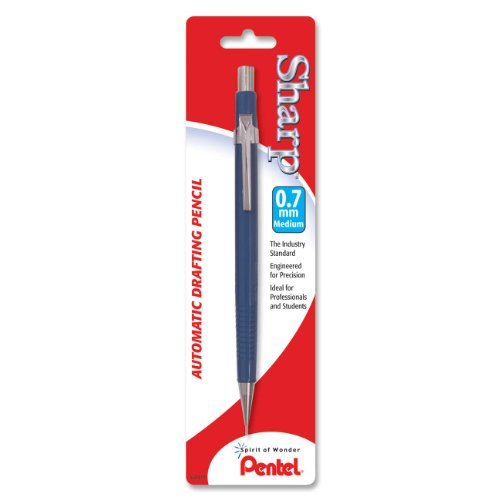 (Pentel Sharp Automatic Pencil, 0.7mm, Blue Barrel, 1 Pack (P207BP-K6))