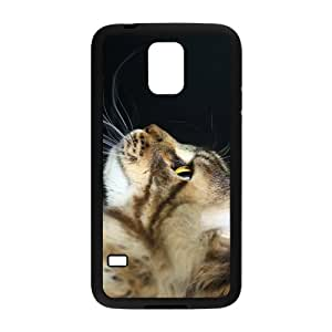Predator Cat Hight Quality Plastic Case for Samsung Galaxy S5