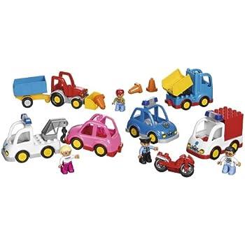 Multi Vehicles Set for Exploring Transportation by LEGO Education DUPLO