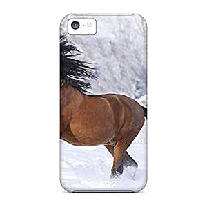 Cute High Quality Iphone 5c Winter Horse Cases