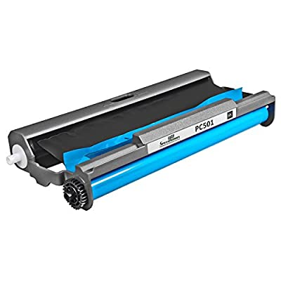 Speedy Inks - PC501 Compatible Fax Cartridge with Roll for use in Brother FAX 575 Fax printers