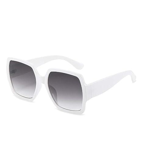 Yangjing-hl Gafas Gafas de Sol de Moda Mujer Salvaje Caja ...
