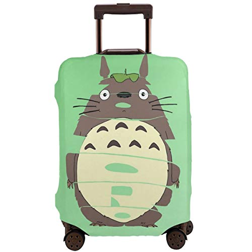 Anime My Totoro Travel Luggage Cover Suitcase Protector Washable Baggage Luggage Covers Zipper Fits 26-28 Inch