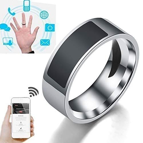 XHXseller Anillo programable de NFC, Anillo preventivo Inteligente Nuevo Anillo Creativo Creativo NFC Multifuncional…