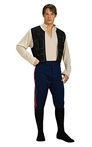 Rubie's Star Wars Han Solo, Multicolored, One Size Costume ()