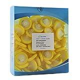 Simsii Syringe Filters, Hydrophilic PVDF, Diameter 30 mm, Pore Size 0.22 um, Pack of 100