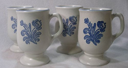 (Pfaltzgraff Yorktowne Pedestal Mugs, Set of 4)